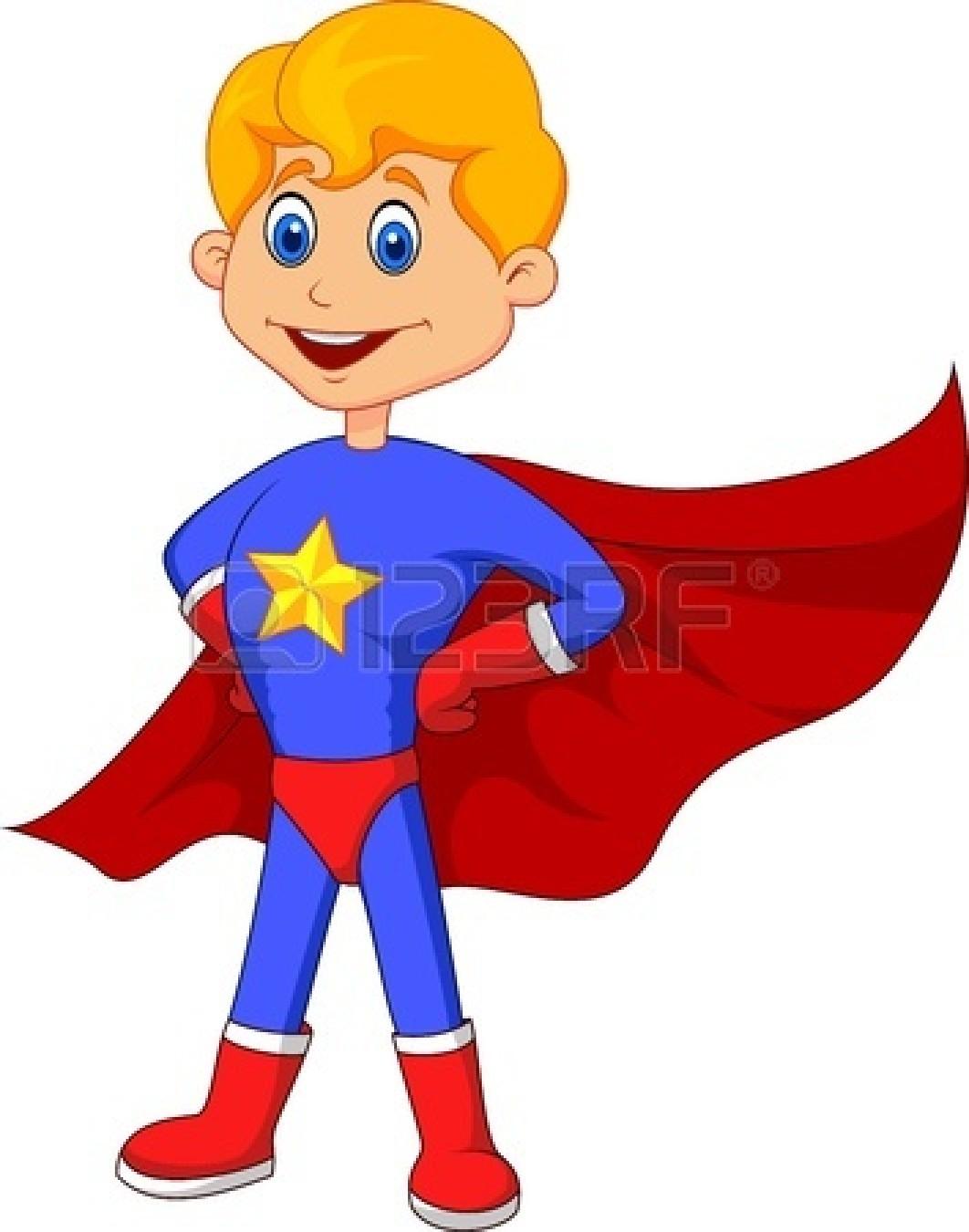 Superman cape clipart