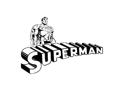 Superman clip art moving free clipart images