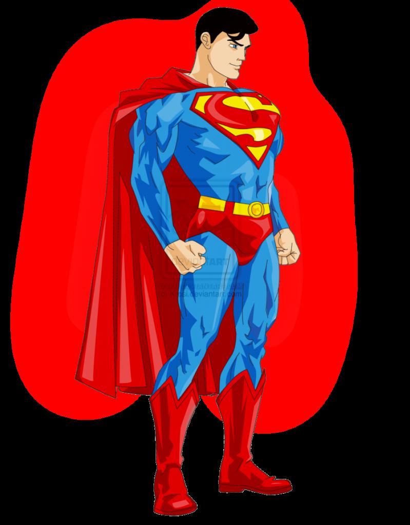 Superman clipart 2