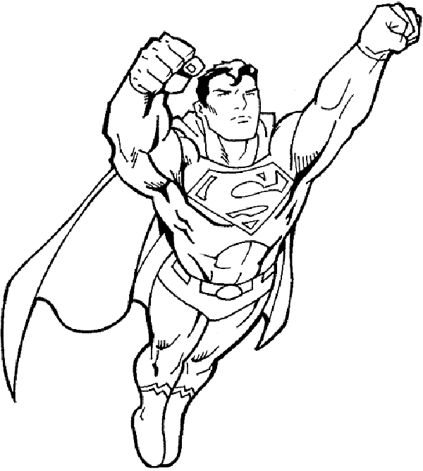 Superman clipart black and white free images