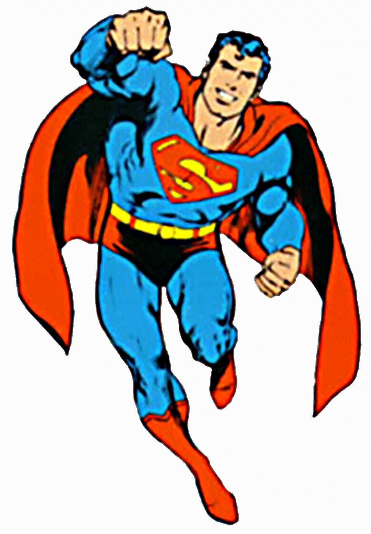 Superman clipart free 2
