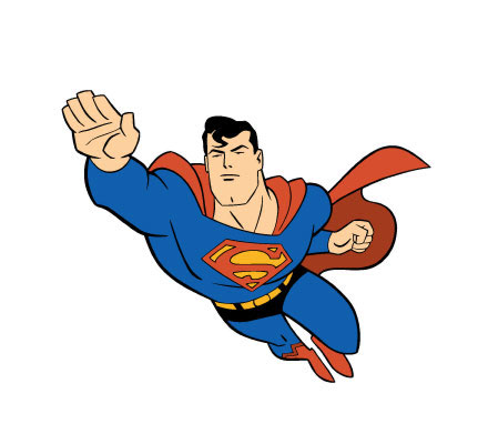 Superman clipart free images 6