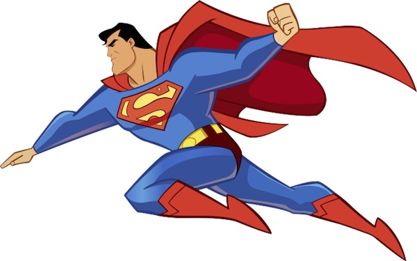Superman clipart free images