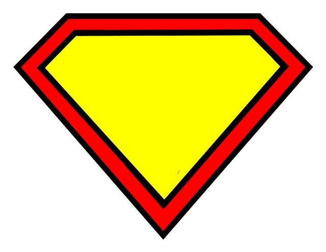 Superman clipart logo 3