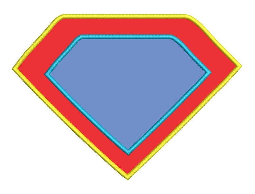 Superman clipart logo