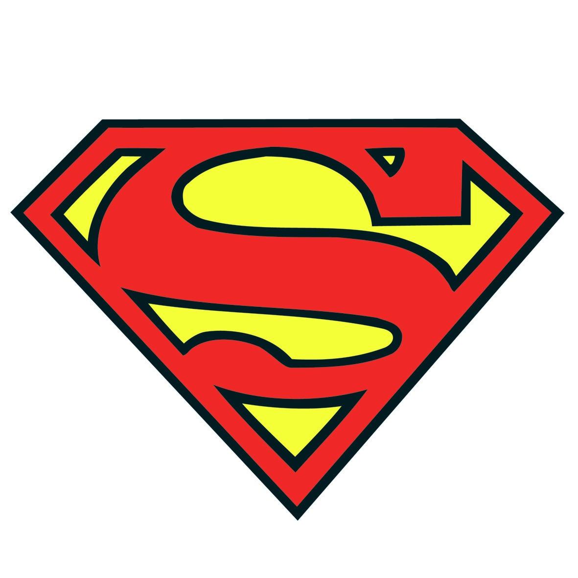 Superman logo clip art free clipart images
