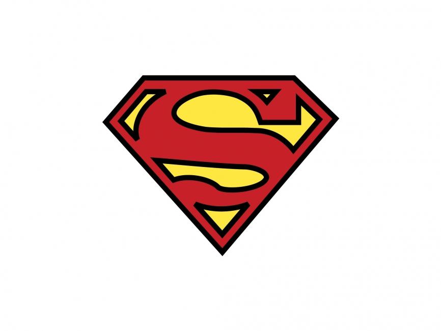 Superman logo clipart 2