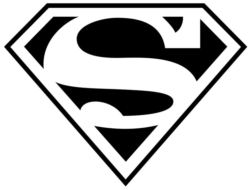 Superman logo clipart 3