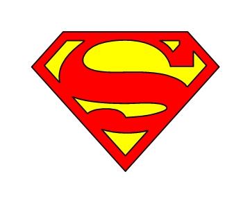 Superman logo clipart 4