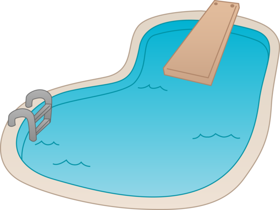 Swimming pool clipart free images