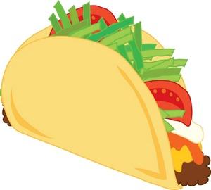 Taco dinner clipart