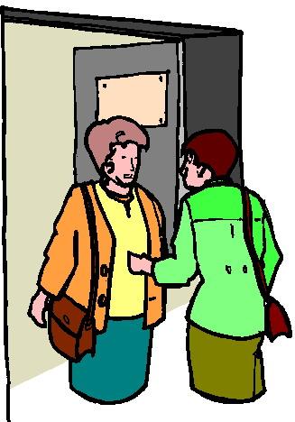 Teacher meeting clipart 2