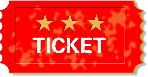 Ticket clip art template free clipart images 2