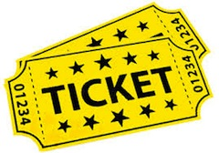 Ticket clip art to print free clipart images 2