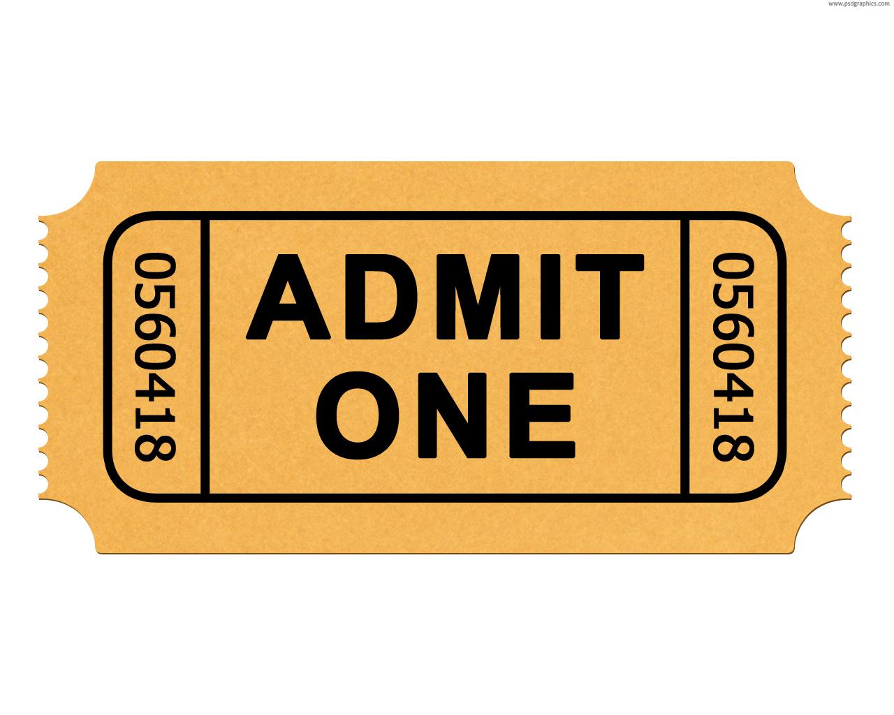 Ticket clip art
