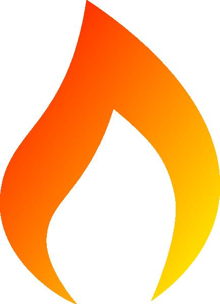 Torch fire clipart