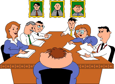 Town meeting clipart