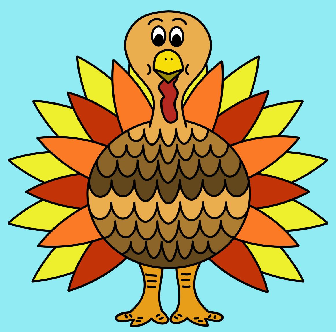 Turkey  black and white happy thanksgiving turkey clipart black and white 2 3