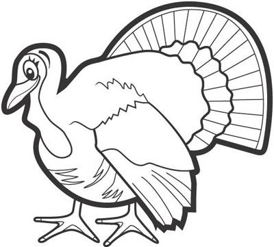 Turkey  black and white turkey black and white thanksgiving turkey clipart 5