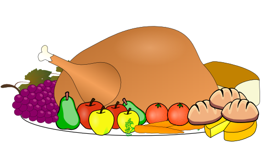 Turkey dinner clipart free images 7