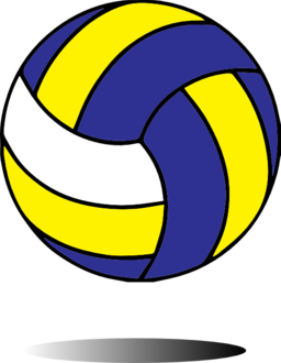 Volleyball clipart 3