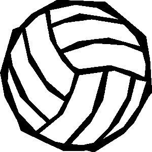 Volleyball clipart 9 3