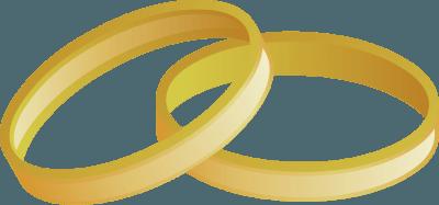Wedding ring clip art gold wedding ring clipart 3