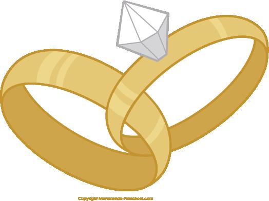 Wedding ring clipart 6