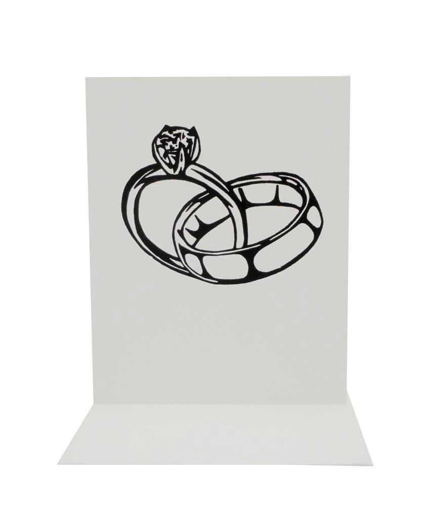 Wedding ring clipart 8
