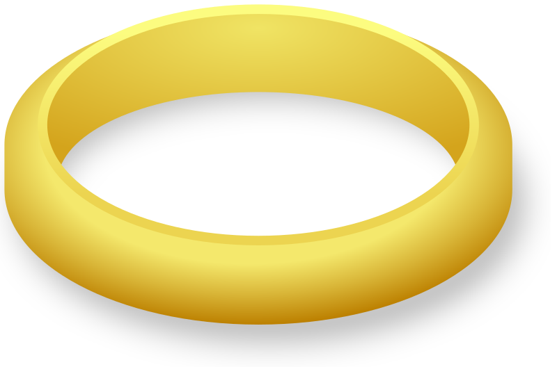 Wedding ring clipart diamond outline clip art real