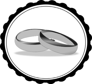 Wedding ring wedding and engagement clipart free graphics 4