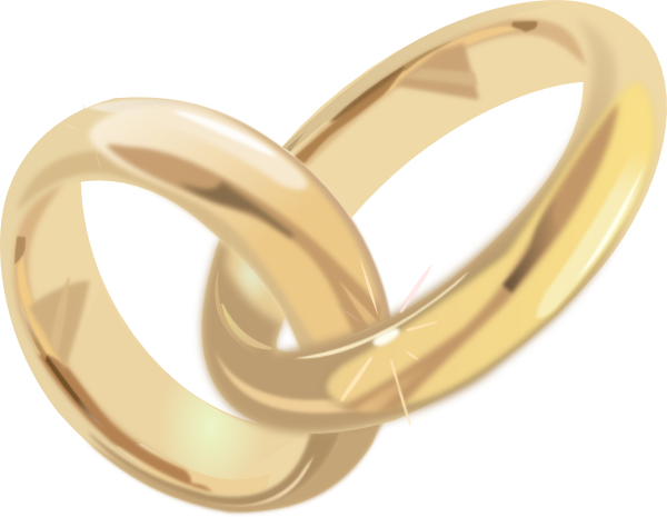 Wedding ring wedding and engagement clipart free graphics 6