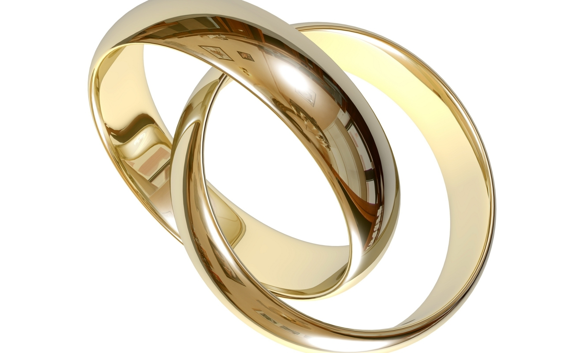 Wedding rings clipart 2