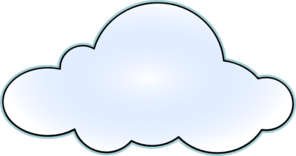 White cloud clipart free images 6