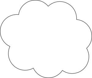 White cloud clipart free images