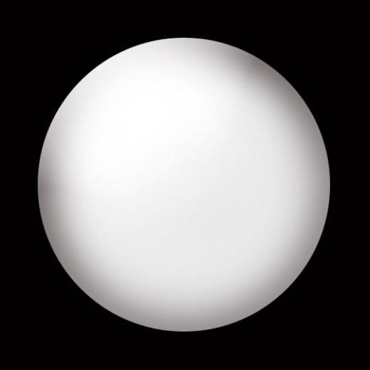 White moon clipart