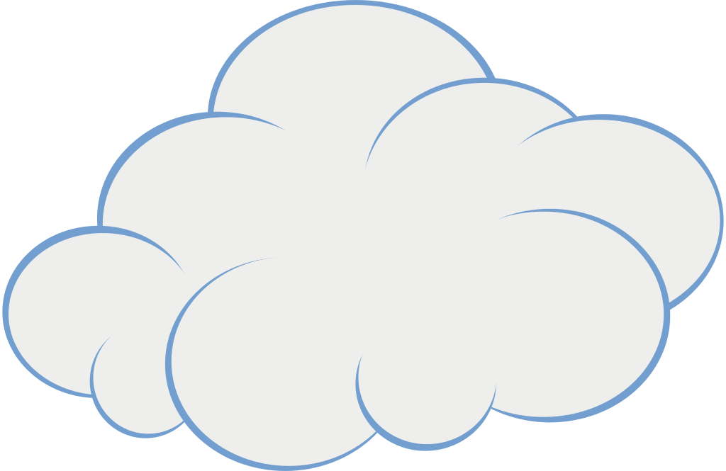 Windy cloud clip art clipart clipart
