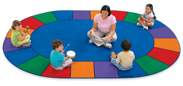 A place for everyone circle time carpets at lakeshore clip art