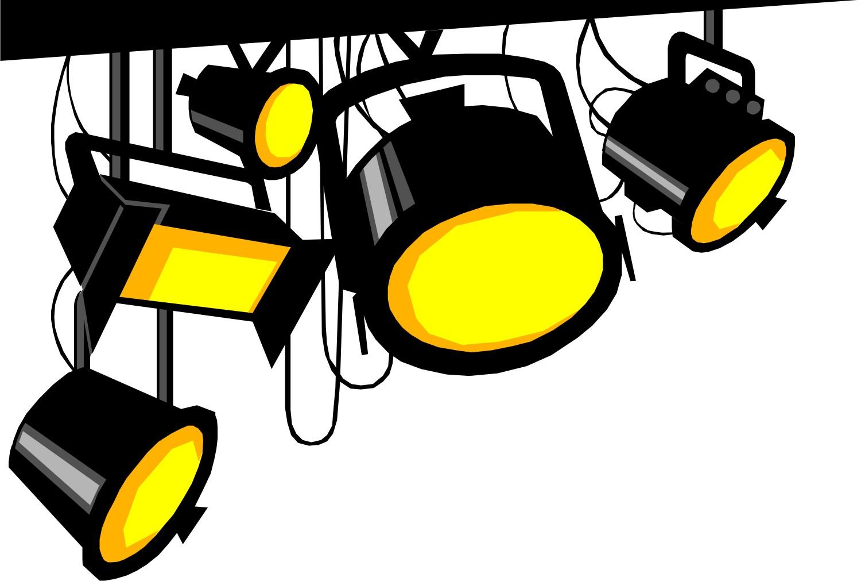 Animated spotlight clipart