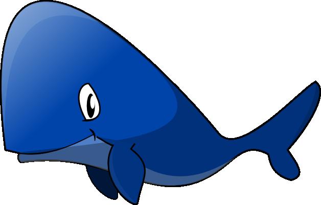 Baby whale blue whale clip art 2