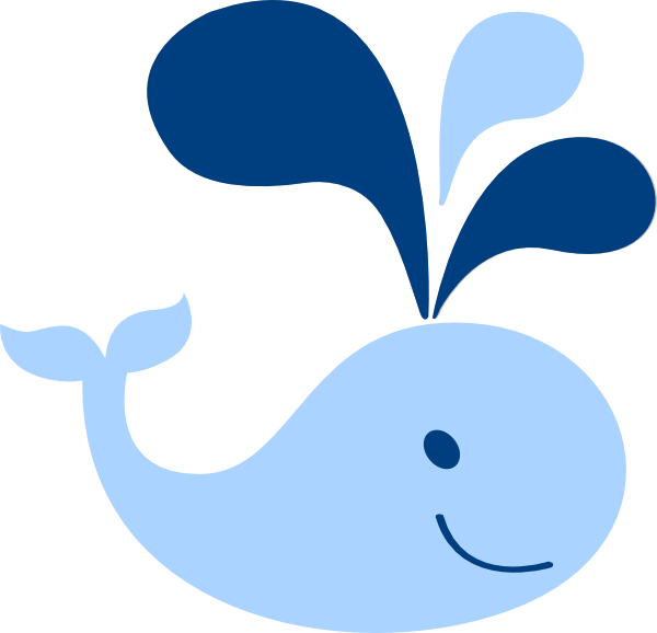 Baby whale clip art free clipart images