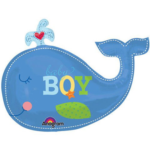 Baby whale clipart 8