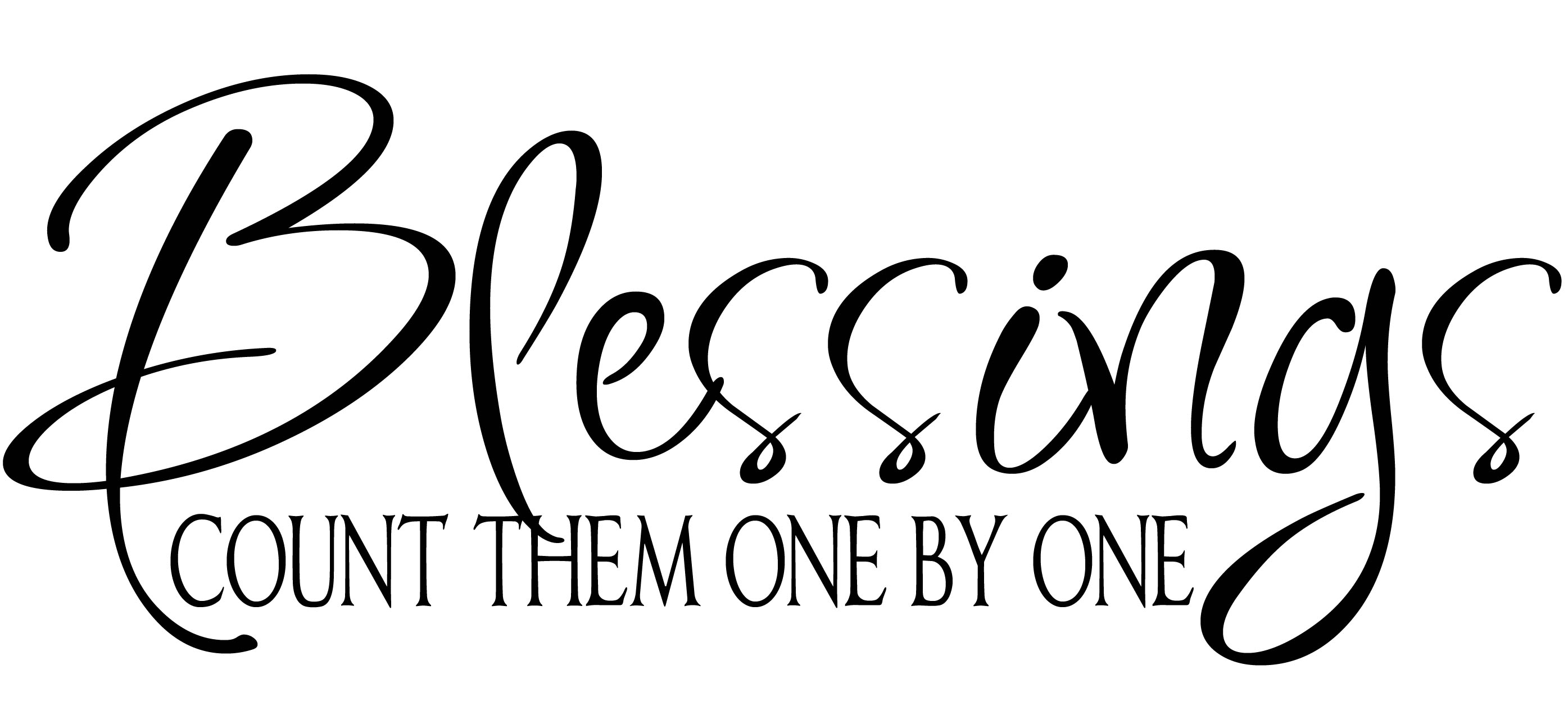 Blessings quotes in clipart
