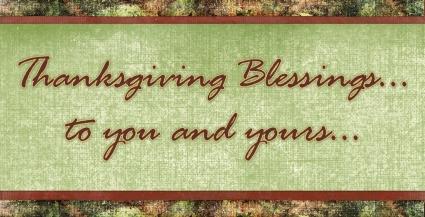 Blessings thanksgiving blessing clipart