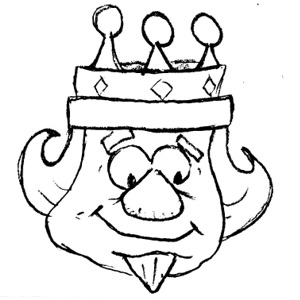 Cash is king clipart 3