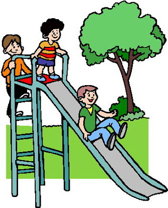 Children playing play clipart