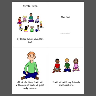 Circle time clipart 2