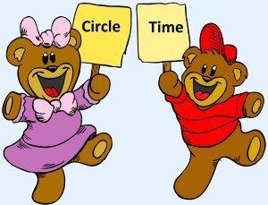 Circle time daycare preschool weather calendar songs art clipart