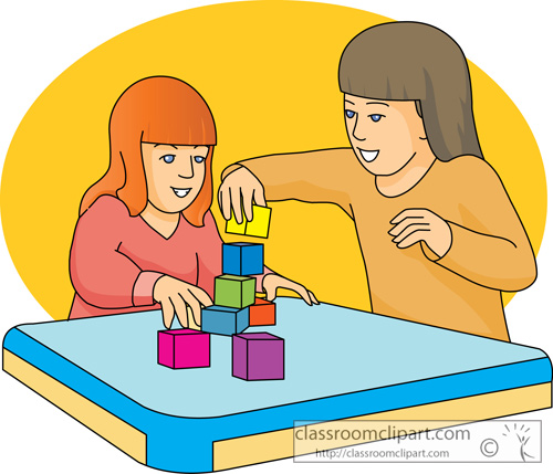 Clip art play table clipart