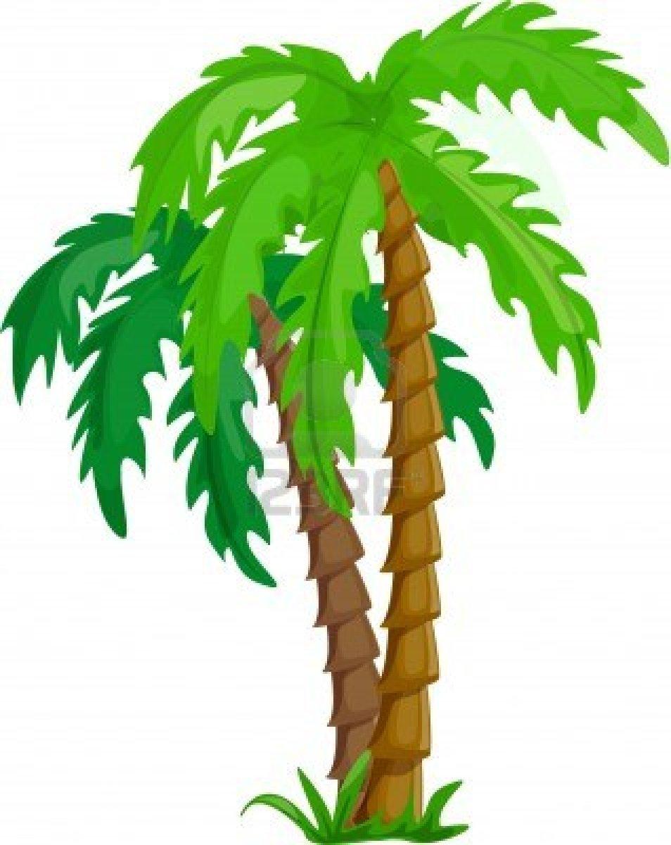 Clipart jungle trees